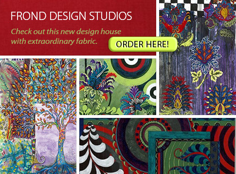 Frond Design Studios - Check out this new design house wiht extraordinary fabric.