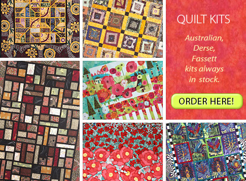 Quilt Kits - Australian, Derse, Fassett kits alway in stock
