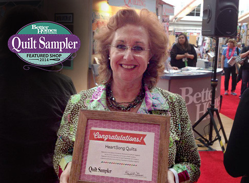 Quilt Sampler Featured Shop 2014